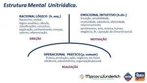 mentoring: estrutura mental unitriádica